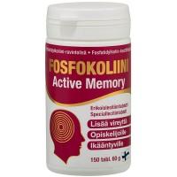 Витамины для улучшения памяти Fosfokoliini Active Memory 150 таблеток Hankintatukku