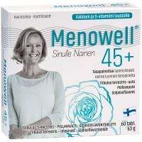 Витамины Menowell 45+ для женщин 60 таблеток Hankintatukku