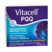Cтимулятор мозга Vitacell PQQ 60 таблеток Hankintatukku