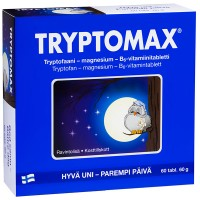 Таблетки для сна Tryptomax 60 таблеток Hankintatukku