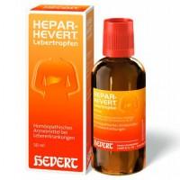 Гомеопатические лекарства для печени и желчных протоков HEPAR HEVERT Lebertropfen 50 мл HEVERT