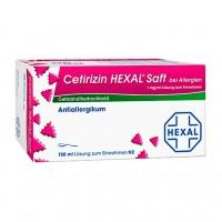 Сироп от аллергии CETIRIZIN HEXAL Saft bei Allergien 150 мл HEXAL