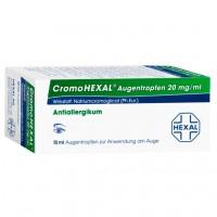 Капли от аллергии для глаз CROMOHEXAL Augentropfen 10 мл HEXAL