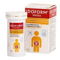 Таблетки жевательные с усиленными молочно-кислыми бактериями для путешествий IDOFORM MATKA 40 шт Idoform