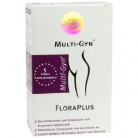 Гель для укрепления влагалищной флоры MULTI-GYN FloraPlus Gel 5X5 мл Karo Pharma