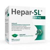Препарат от расстройства желудка HEPAR-SL 320 mg Hartkapseln 100 капсул KLOSTERFRAU