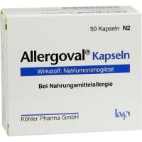 Капсулы для профилактики пищевой аллергии ALLERGOVAL Kapseln 50 шт Kohler