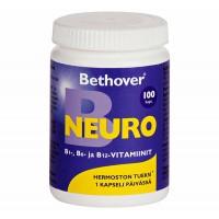 Комплекс NEURO B1 B6  B12 100 капсул BETHOVER