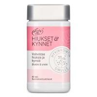 Витамины для волос и ногтей леди вита HIUKSET JA KYNNET 90 таблеток LadyVita