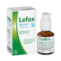 Препарат жидкий с помпой от вздутия живота LEFAX Pump Liquid 50 мл Lefax