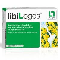 Таблетки для увеличения сексуального влечения LIBILOGES Filmtabletten 180 шт Loges