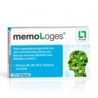 Капсулы для поддержки памяти MEMOLOGES Kapseln 60 шт Loges