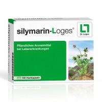 Препарат для печени с расторопшей SILYMARIN-Loges Hartkapseln 100 капсул Loges