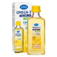 Рыбий жир жидкий с лимоном Омега-3 kalaoljy lemon 1540 mg 240 мл LYSI