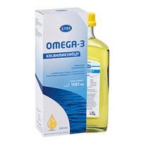 Рыбий жир жидкий Омега-3 с витаминами A D E 240 мл LYSI