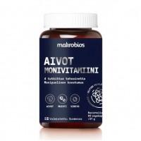 Витамины для работы головного мозга Makrobios Aivot Monivitamiini 60 капсул Makrobios