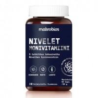Витамины для суставов Makrobios Nivelet monivitamiini 60 капсул Makrobios