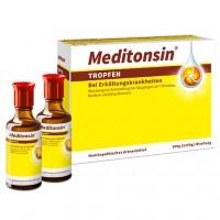 Капли от простуды MEDITONSIN Tropfen 2Х50 гр MEDICE