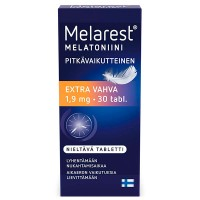 Препарат от бессонницы  MELAREST EXTRA VAHVA 1.9 MG 30 шт (коробка) Melarest
