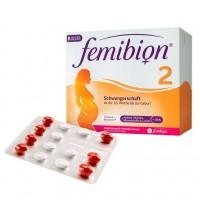 Витамины беременным женщинам с 13 недели FEMIBION Schwangerschaft 2 D3+DHA Folat 112 шт P&G Health