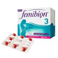 Комбинированный набор витаминов для кормления грудью FEMIBION 3 Stillzeit Kombipackung 112 шт Merck