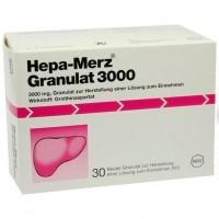 Препарат для лечения печени HEPA MERZ Granulat 3.000 Btl. 30 шт MERZ Pharmaceuticals