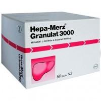 Препарат для лечения печени HEPA MERZ Granulat 3.000 Btl. 50 шт MERZ Pharmaceuticals