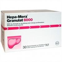 Препарат для лечения печени HEPA MERZ Granulat 6.000 Btl. 30 шт MERZ Pharmaceuticals