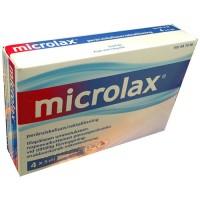 Клизмы от запоров для детей и взрослых Microlax 4 x 5 мл Microlax