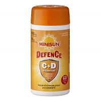 Витамин Minisun C +D DEFENCE жевательные таблетки 60 шт Minisun