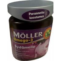 Витамины для сердца с Омега-3 Möller Omega-3 Sydämelle 76 капсул Möller