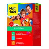 Витамины с кальцием Mini + Kalsium 60 жевательных таблеток Multi-Tabs