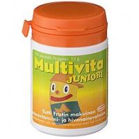 Витамин Multivita Joniori витамины и минералы жевательные таблетки 100 шт. MultiVita
