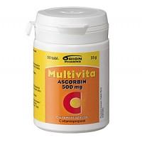 Витамин Multivita C Ascorbin 500 мг таблетки 50 шт. MultiVita