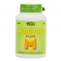 Витамин Multivita Plus витамины и минералы таблетки 200 шт MultiVita