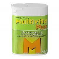 Витамин Multivita Plus витамины и минералы таблетки 30 шт MultiVita