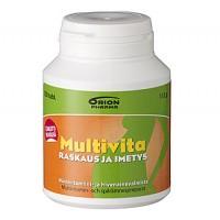 Витамин Multivita RASKAUS JA IMETYS для беременных и кормящих таблетки 120 шт. MultiVita