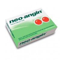 Препарат от боли в горле без сахара NEO ANGIN Halstabletten 24 шт NEO ANGIN