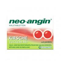 Препарат с для горла с вишневым ароматом NEO ANGIN Halstabletten Kirsche 12 шт NEO ANGIN