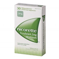 Жевательная резинка NICORETTE FRESHMINT 2 MG 30 шт NICORETTE