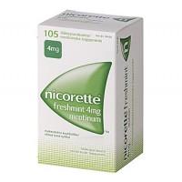 Жевательная резинка NICORETTE FRESHMINT 4 MG 105 шт NICORETTE