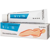 Мазь от чесотки с перметрином NIX 5 % EMULSIOVOIDE 30 гр NIX