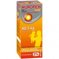 Сироп от лихорадки апельсиновый Junior Fiebersaft Orange 2% 100 мл Nurofen