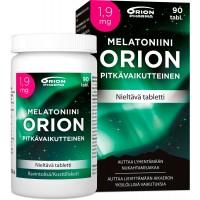 Снотворное длительного действия Melatoniini Orion 1,9 mg pitkävaikutteinen 90 таблеток Orion