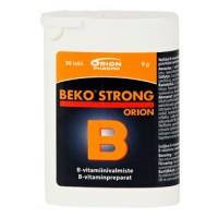 Витамин B BEKO STRONG 30 таблеток Orion
