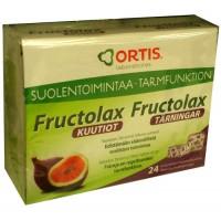 Витамины Fructolax с инжиром для нормальной работы кишечника 24 кубика Ortis