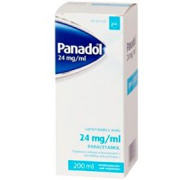 Капли жаропонижающие PANADOL 24 мг / мл 200 мл GlaxoSmithKline