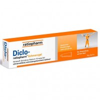 Гель болеутоляющий с диклофенаком натрия DICLO-RATIOPHARM Schmerzgel 50 гр RatioPharm