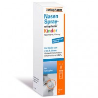 Спрей от насморка для детей NASENSPRAY-ratiopharm Kinder kons.frei 10 мл RatioPharm