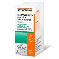 Средство для лечения острого бронхита PELARGONIUM-RATIOPHARM Bronchialtropfen 20 мл RatioPharm
